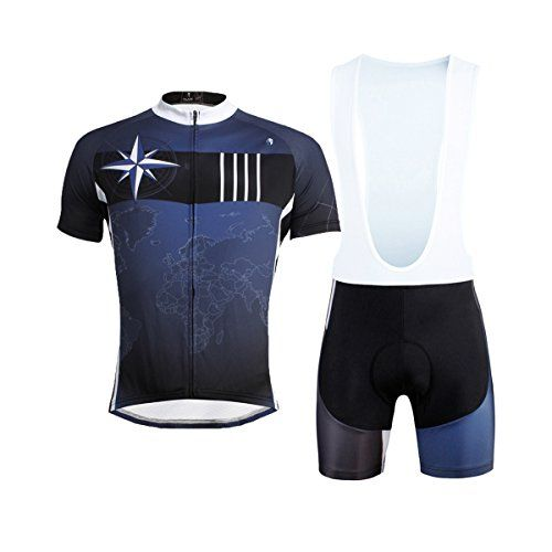 194b8ee12 LAOYOU World Plate Mens Cycling Jersey And Bib Shorts Set Size M     Find