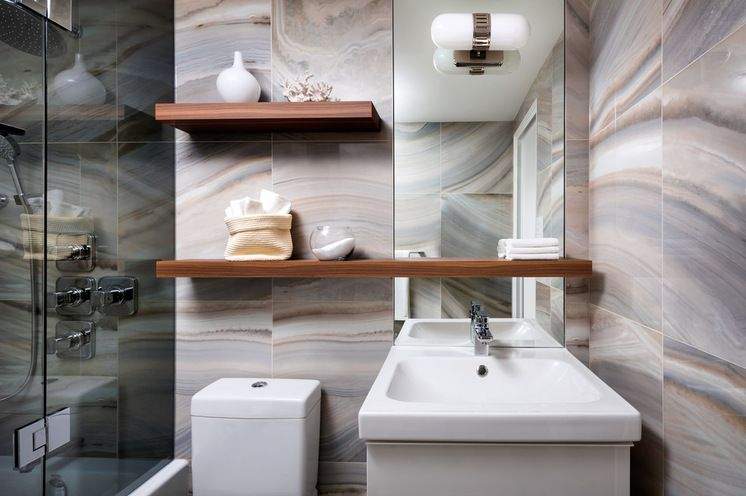 Contemporary Bathroom By Toronto Interior Design Group Yanic Classy Bathroom Remodel Toronto