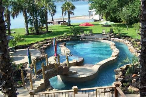 Small Backyard Lazy River Pools Yahoo Image Search Results