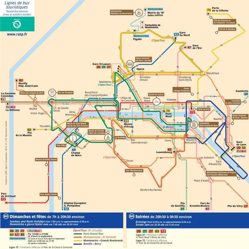 Paris bus map Travel Pinterest Paris travel, Bus map and Paris