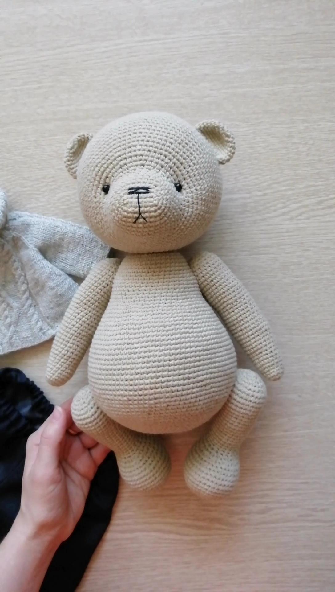 Crochet bear amigurumi pattern   Amiguroom Toys   1920x1088