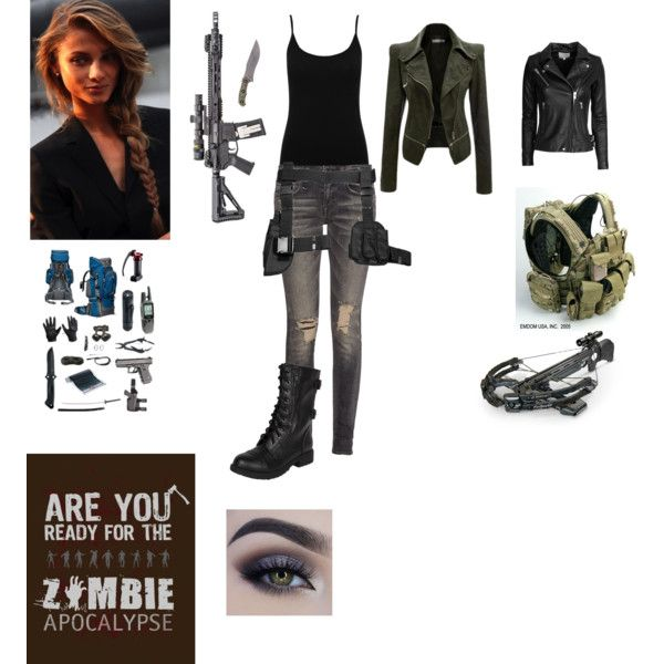 Zombie Apocalypse Outfit for Women