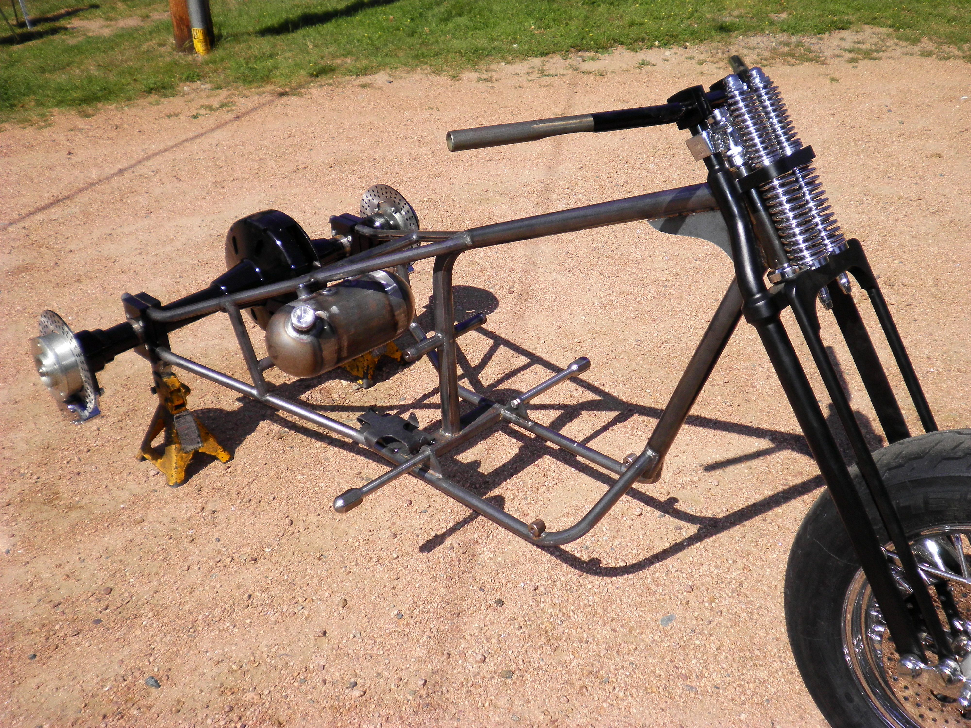 How To Build A Vw Trike Frame Page 6 Frame Design