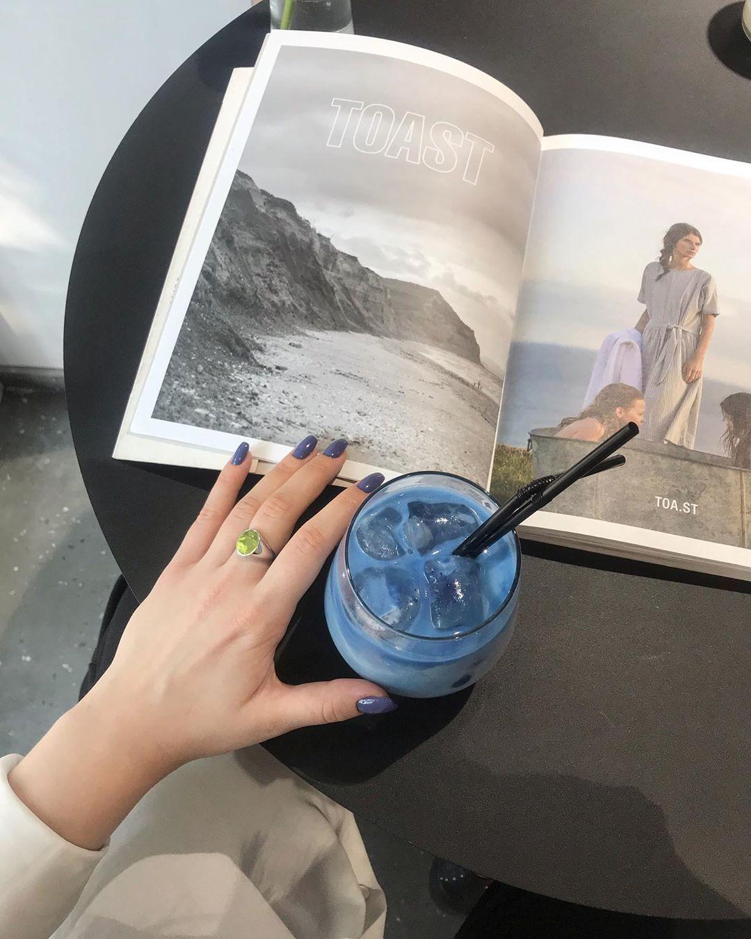 Blue Milk, Matcha Latte
