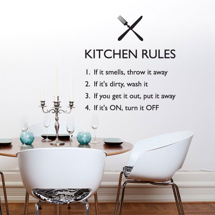 Photos Wash Dishes Kitchen Wall Sticker Quote Art Funny Home Hell Decal Windsor Designers