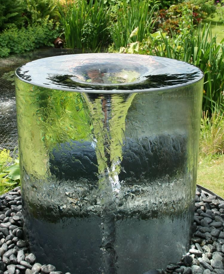Endless Vortex Home Water Fountain. I could watch this for HOURS. #giftsofpeace #waterfeatures