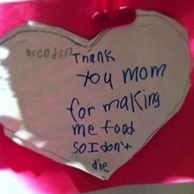 """Kids' Hilarious Insane And Totally Bizarre Cards For Mother's Day 
