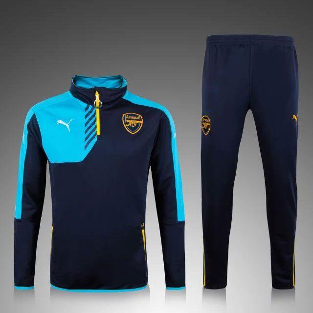 a4f4778b97378 Kits de Entrenamiento Arsenal 2016 comprar equipaciones baratas - Azul