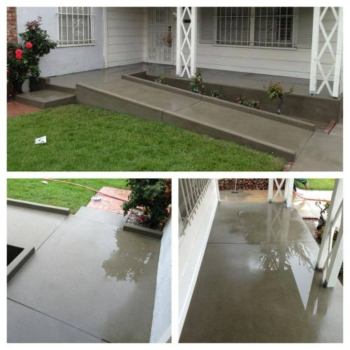Custom Concrete Wheelchair Ramp