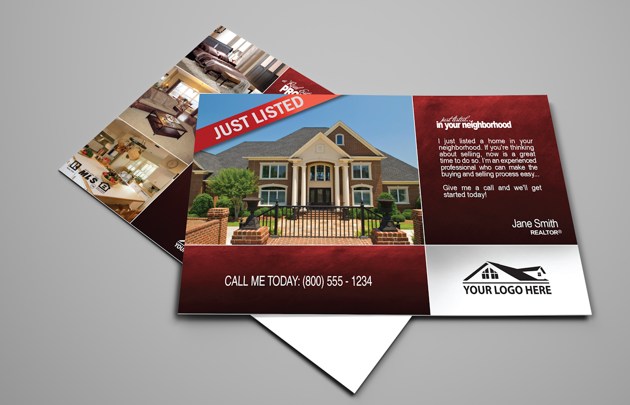 Pin by Realty Cards Printing Company on Real Estate Postcards ...