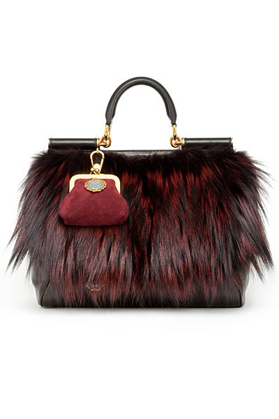 wholesale discount purses and handbags. Mamma bag by Dolce   Gabbana. Dolce  - Women s Accessories - 2010 Fall-Winter   please let this be faux fur 8d6effa52fa88