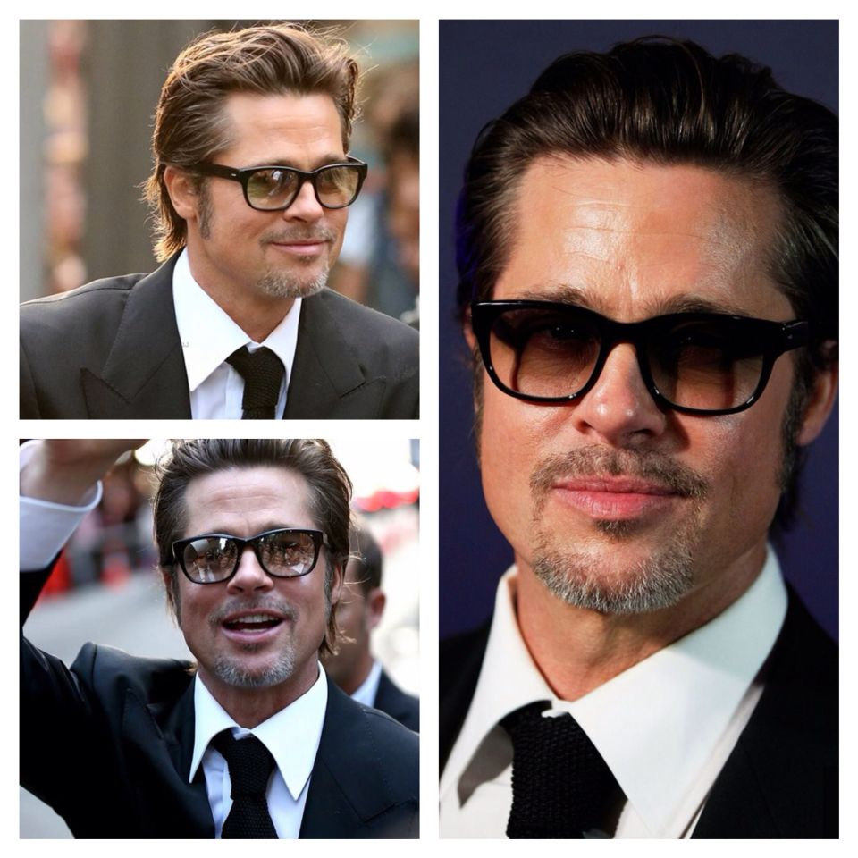 eff1bddd9e Don t you all agree  He sure knows how to pick his frames. Pictured here at  the Unbroken premiere wearing the stunning Barton Perreira LAWFORD ...