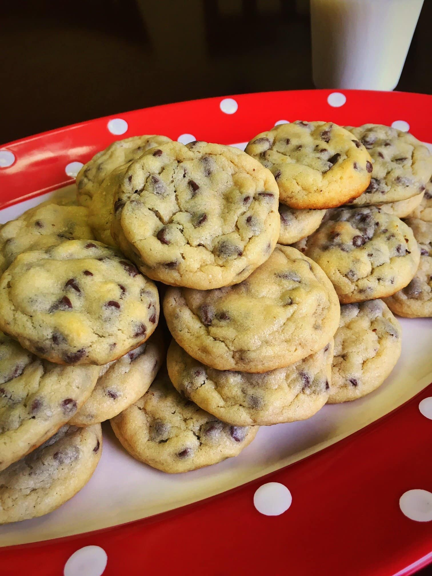 Mom's Famous Easy Chocolate Chip Cookies - Kindly Unspoken