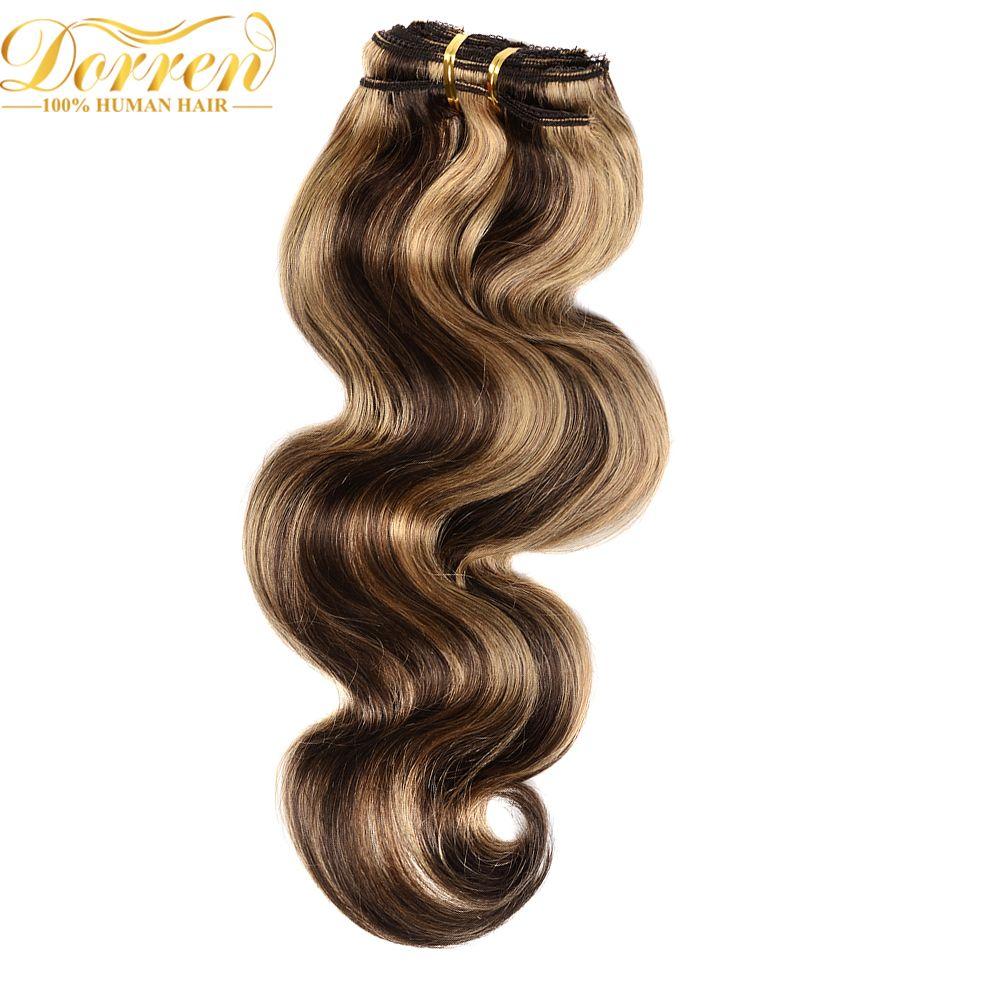 Doreen 427 Mixed Brazilian Remy Hair 7pcs 70gram Full Head Body