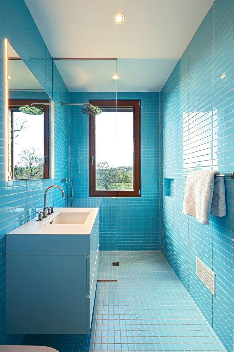 The Link Farm House By Slade Architecture Bathroom Layout Bathroom Windows In Shower Bathroom Floor Tiles