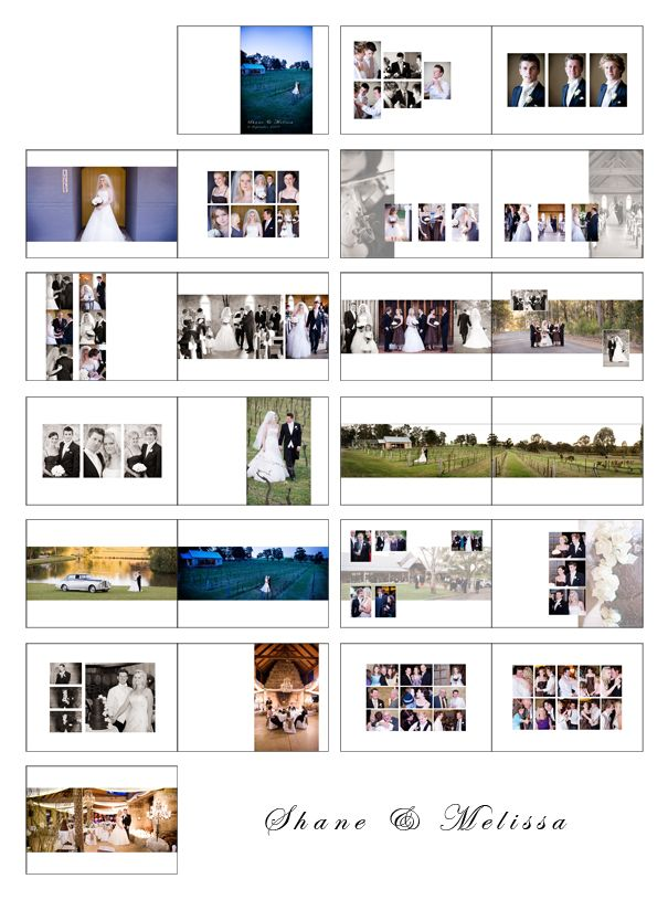 Album Layout Samples Wedding Pinterest Layouts, Album and - sample guest book template