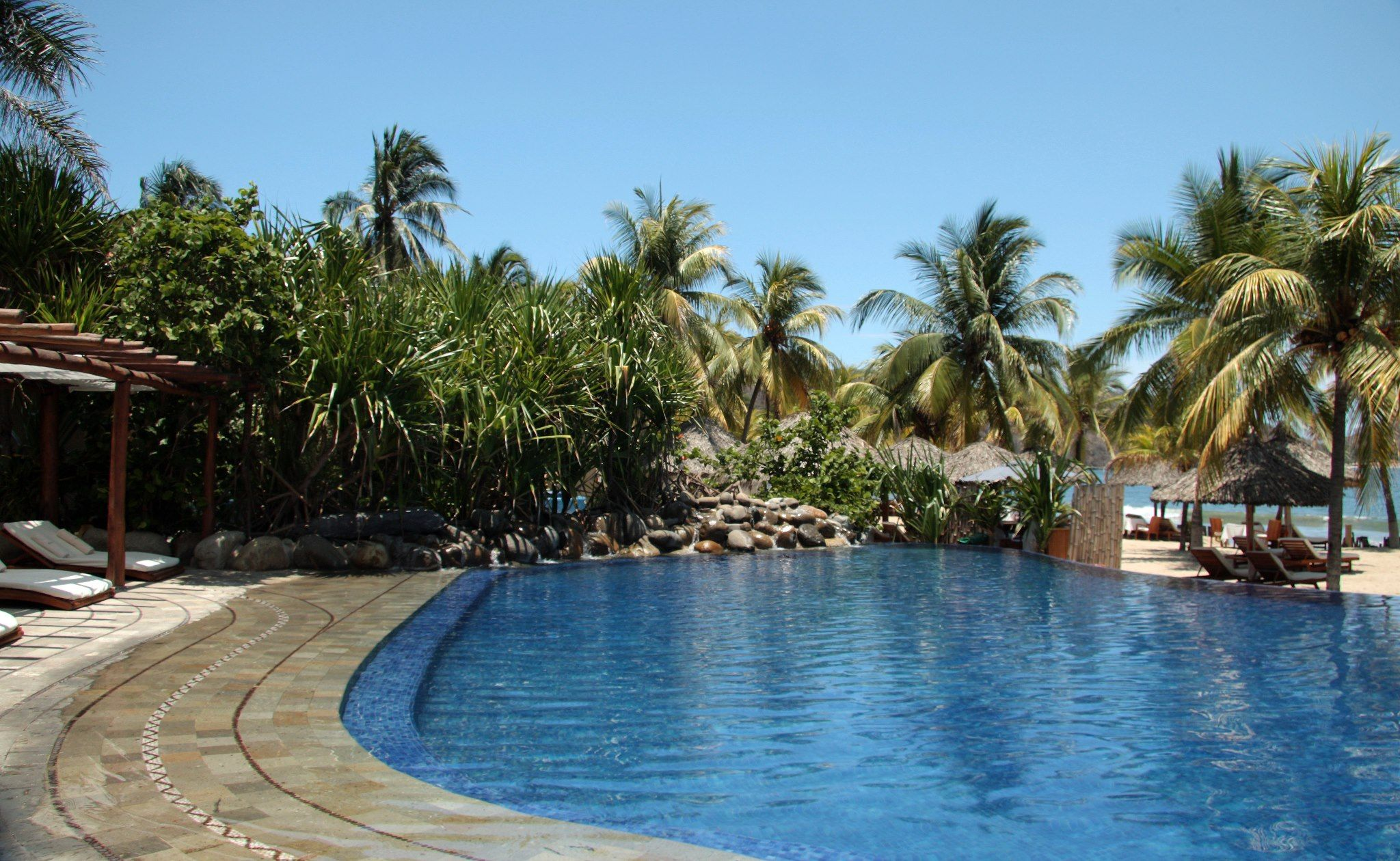 A beautiful September day in Zihuatanejo #Mexico