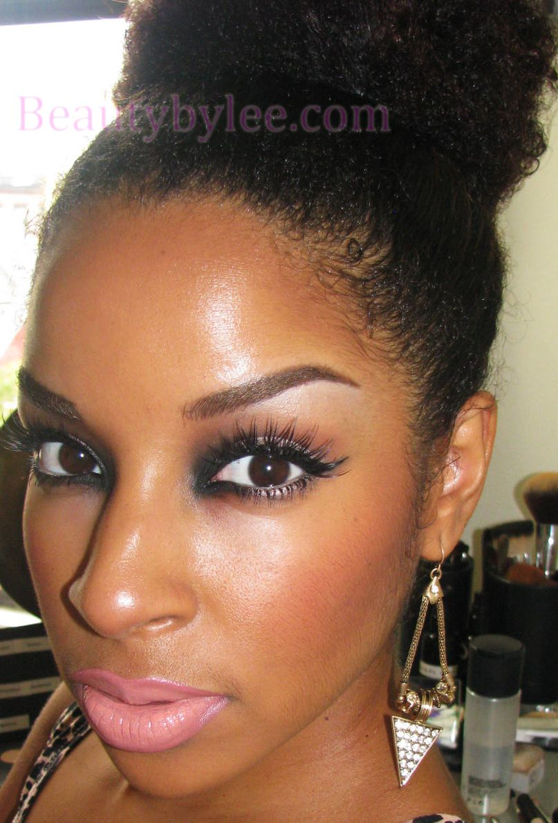 Beauty By Lee: Putting a spin on a Neutral eye look...Reverse Smokey eye
