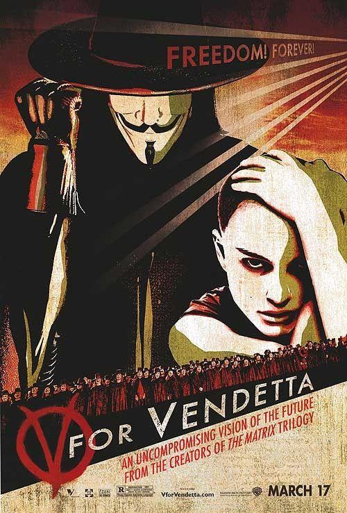 V For Vendetta V Wie Vendetta Superhelden Filme Filme