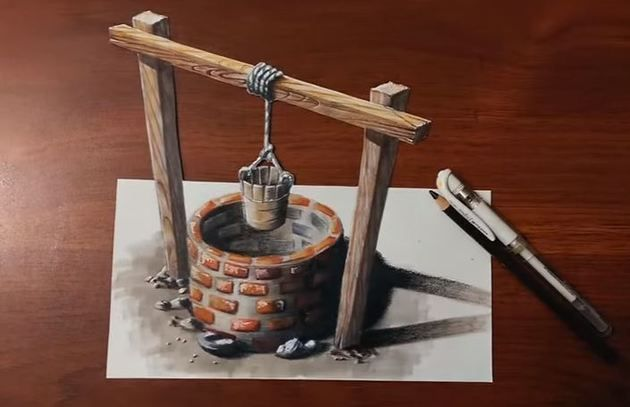 30 Amazing 3D Drawings That Will Leave Your Eyes Baffled
