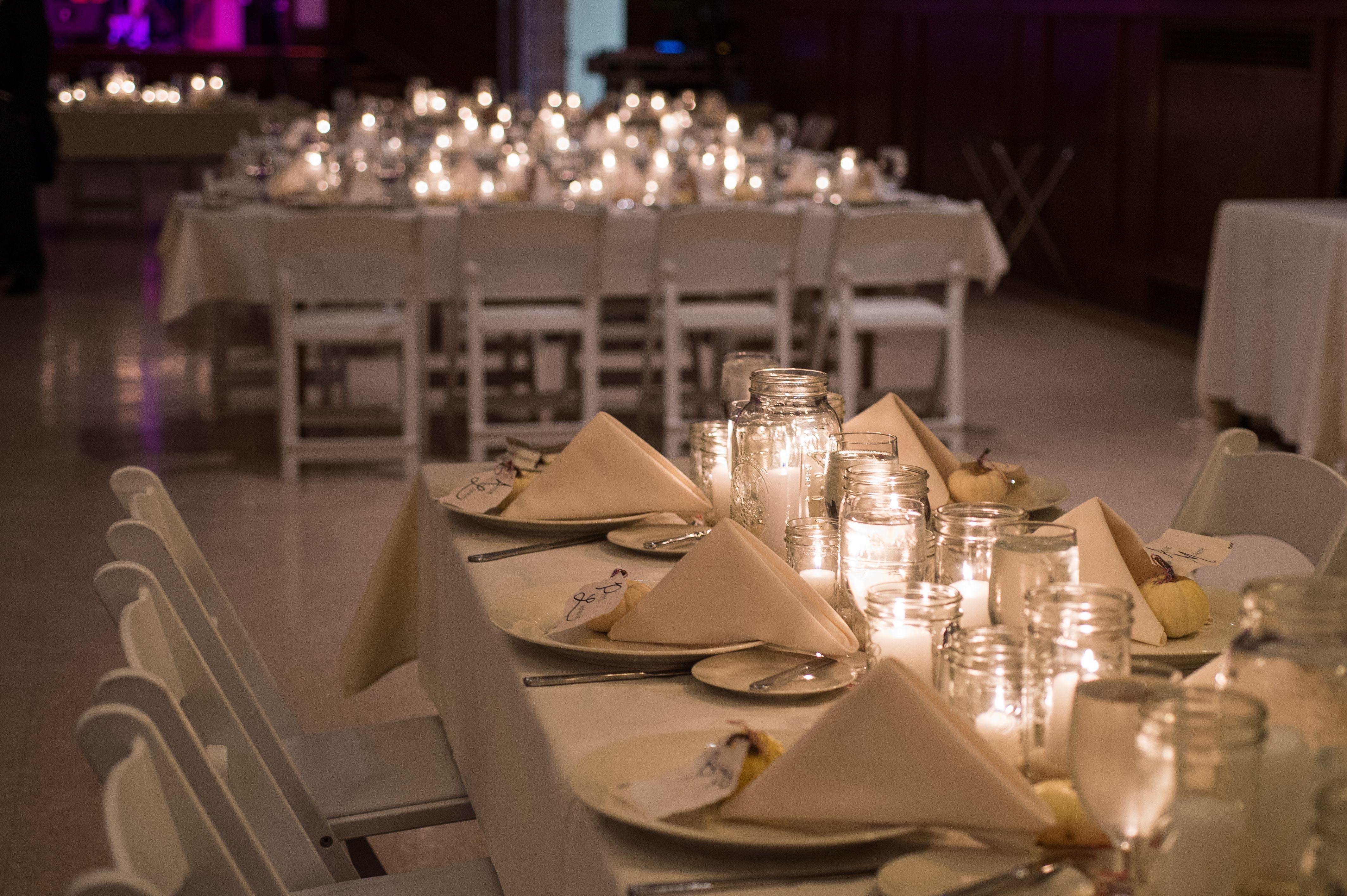 Autumn Wedding Table Centerpieces Shabbychic Rustic Whites