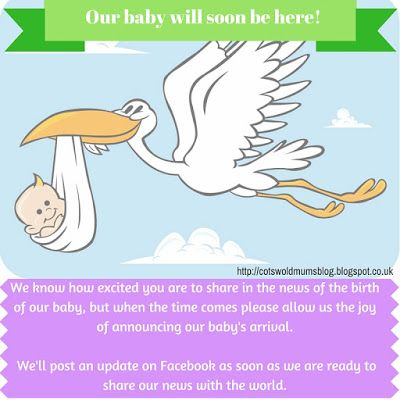 Post this on your facebook page and stop others announcing the – Facebook Birth Announcements