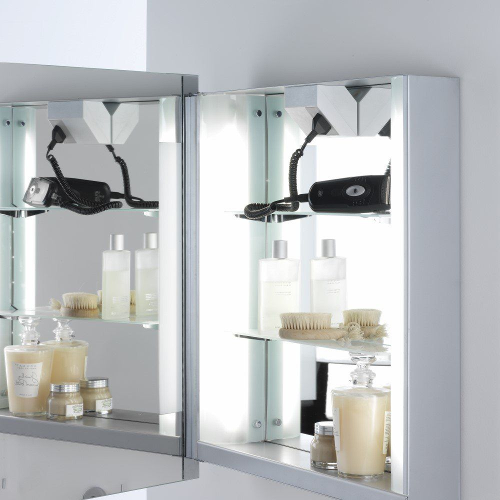 Astro Lighting 0360 Livorno Illuminated Bathroom Cabinet Mirror IP44 ...