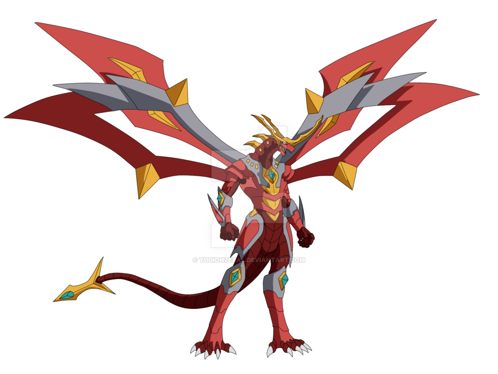 Titanium Dragonoid by YuGiOhZEXAL on DeviantArt | 002