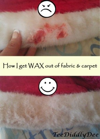 Easily Remove Wax From Fabric Carpet How To Clean Carpet Wax
