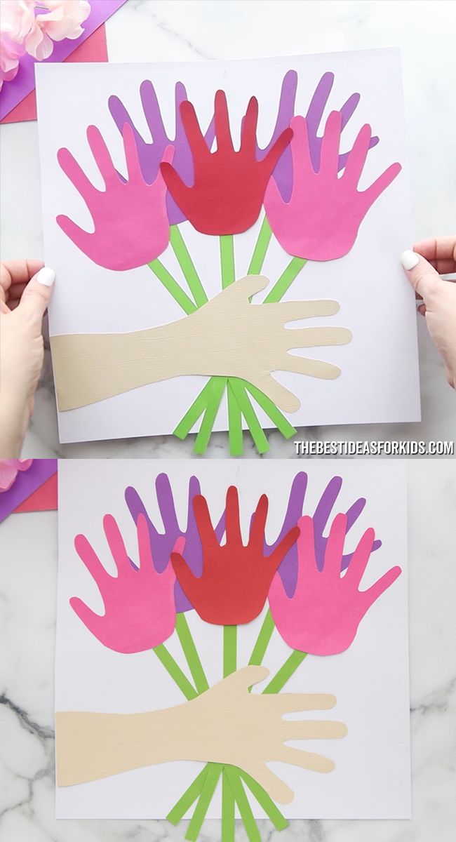 Handprint Bouquet