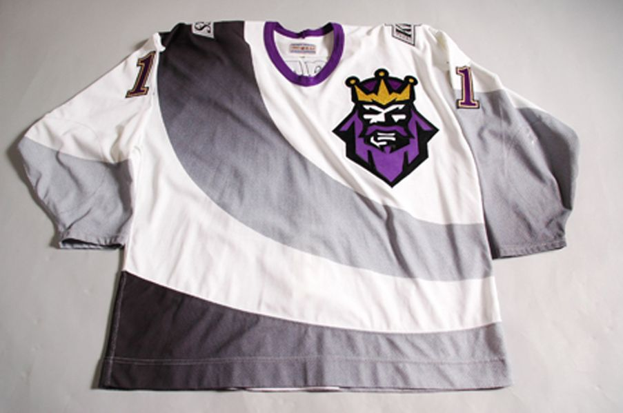 new styles bf92f 7a7fc Los Angeles Kings Jersey History - The Burger King Jersey ...
