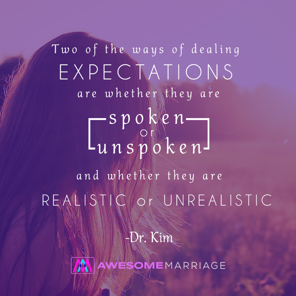 Be Careful With Expectations