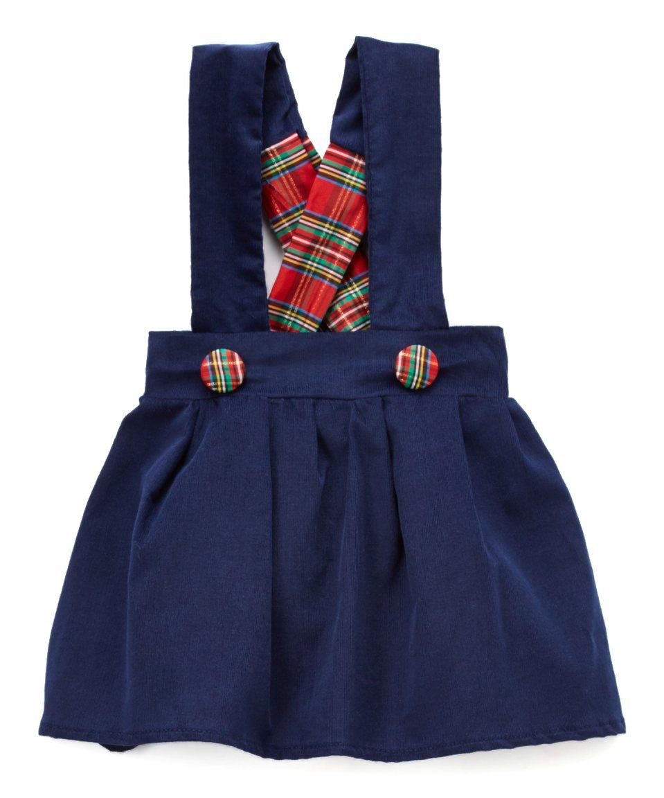 c68a05cb1 Look what I found on  zulily! Caught Ya Lookin  Blue Plaid Charlotte ...