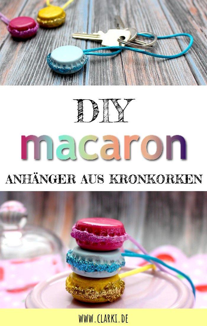 DIY Macaron Anhänger einfach selber machen