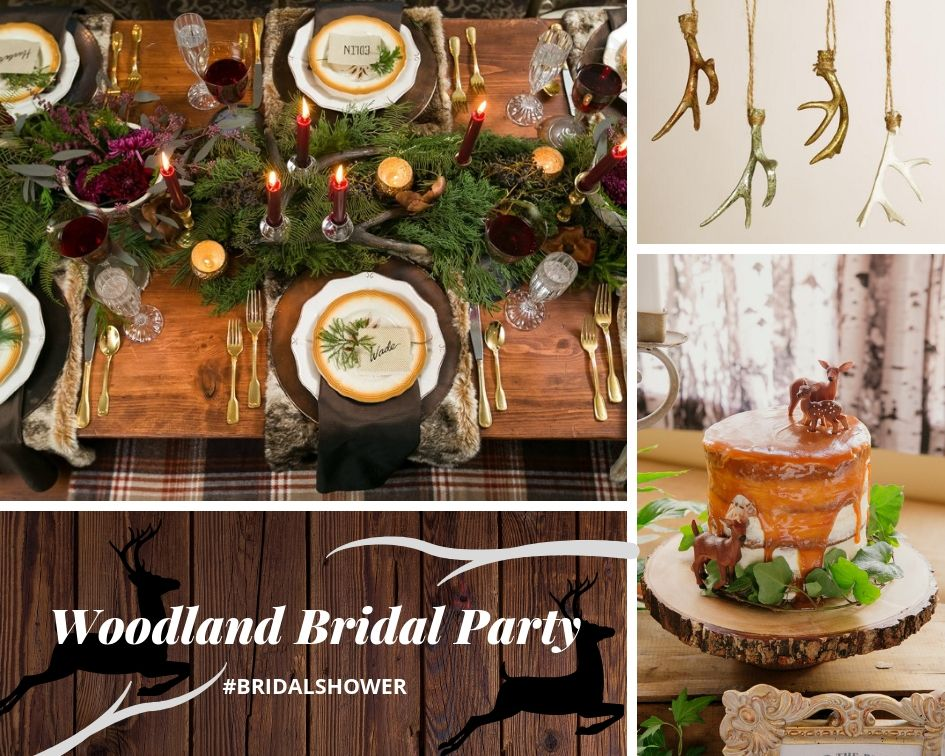 Woodland Themed Bridal Shower Ideas With Images Baby Shower