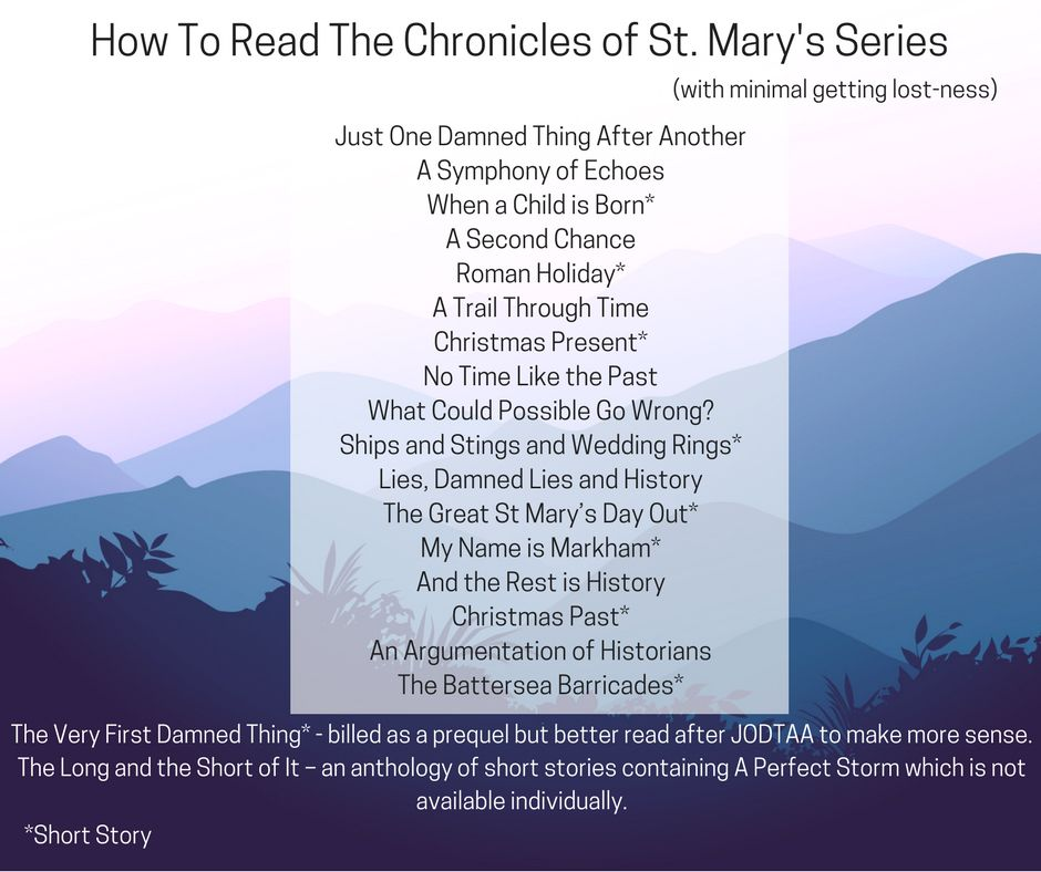 How To Read The Chronicles Of St Marys Series With Minimal