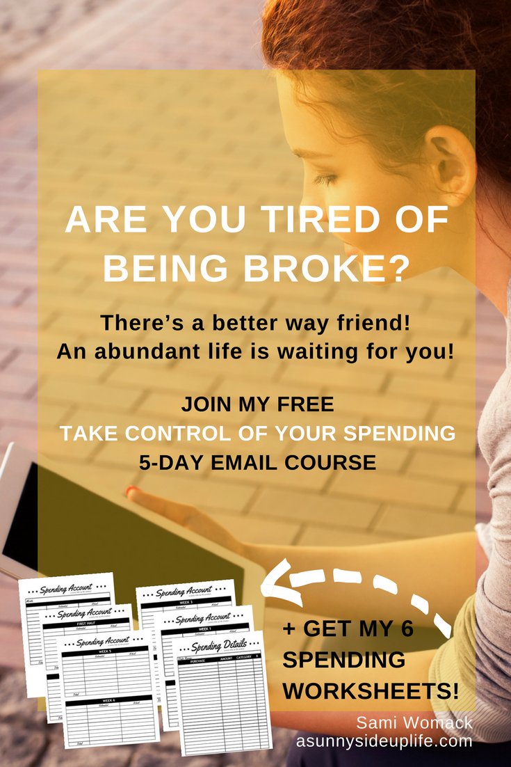 Love This Free 5 Day Email Course Finally Got My Spending Under Control Personal Fin Money Management Activities Money Management Printables Personal Budget