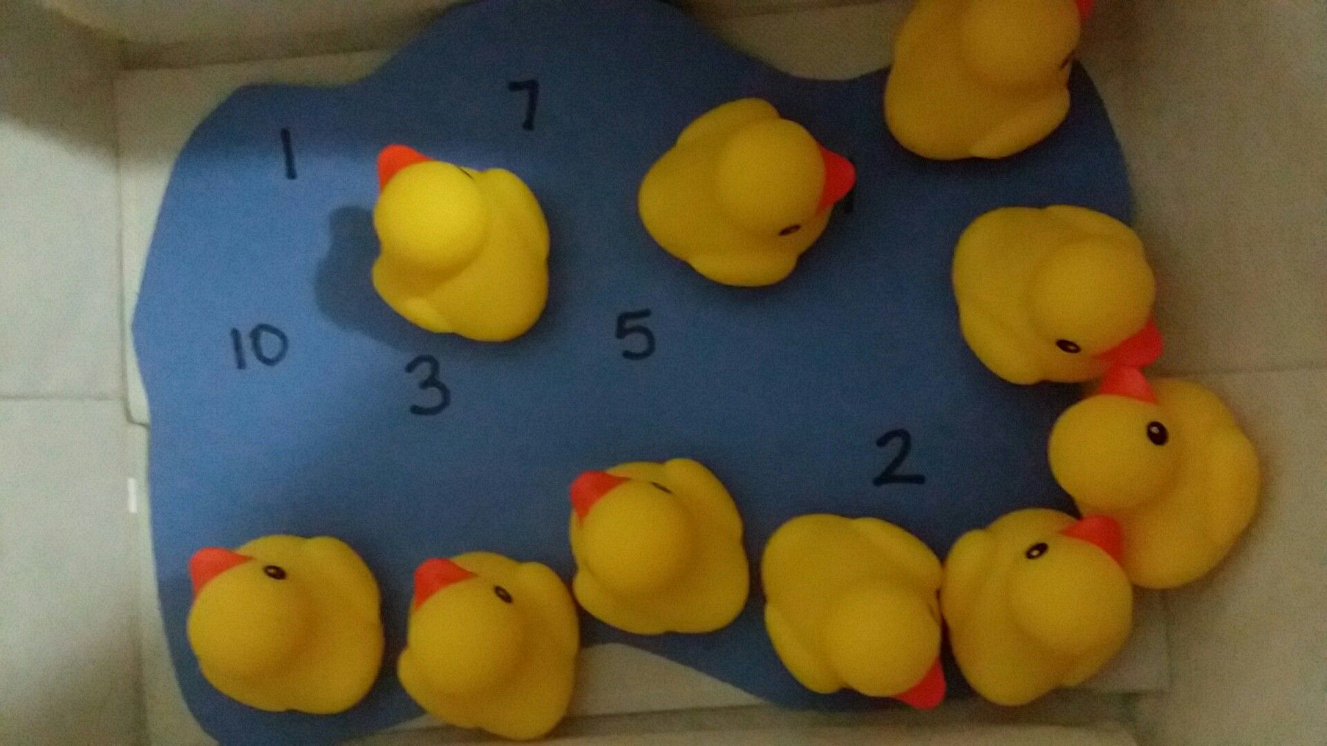 10 Little Rubber Ducks By Eric Carle Number Recognition Activity For Preschool And Kindergarten Homesch Preschool Games Crafts For Kids Homeschool Kindergarten