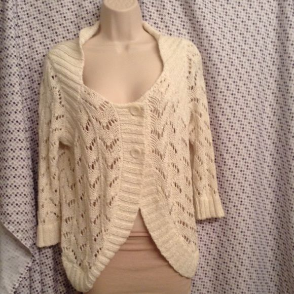 Peter Nygard Cream with gold color size M coverup | Ponchos, Gold ...