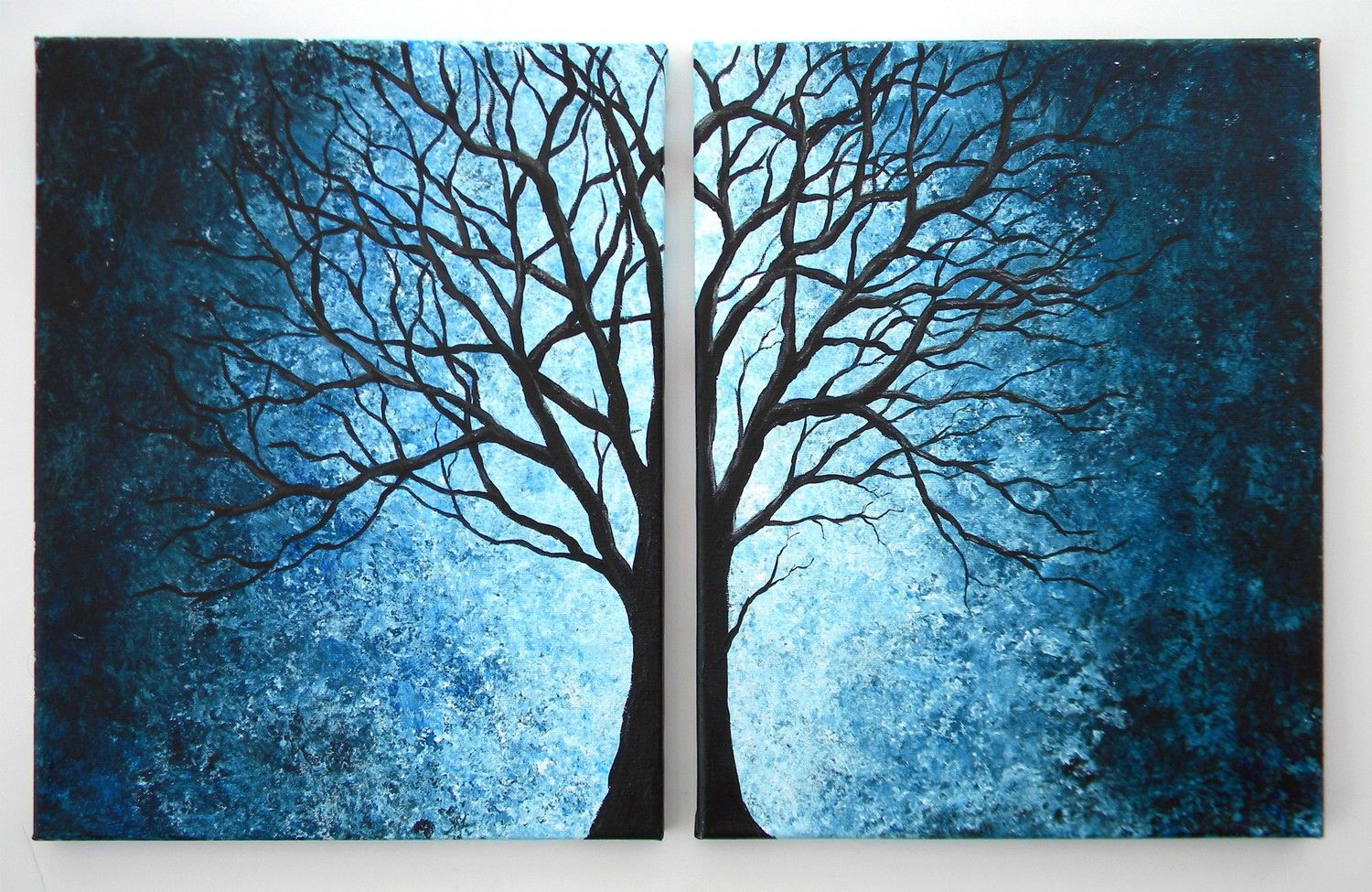 Double Canvas Painting