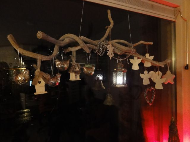 Kerst decoratie hangende takken kerst christmas christmas