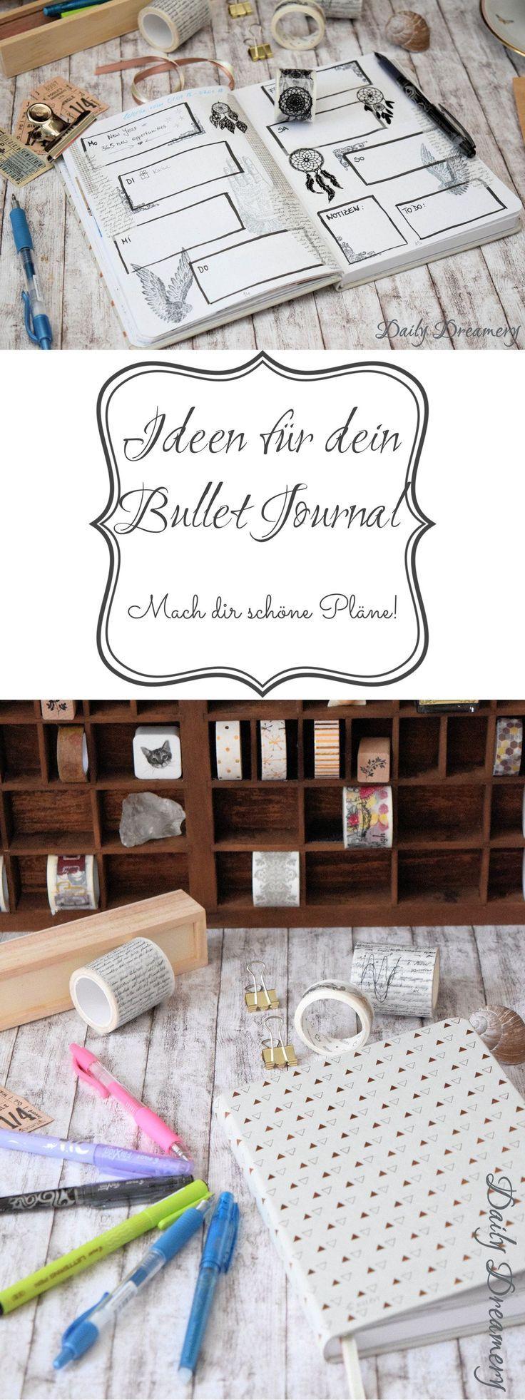 Ideen für dein Bullet Journal - mach dir schöne Pläne! [Anzeige] #latestfashionforwomen