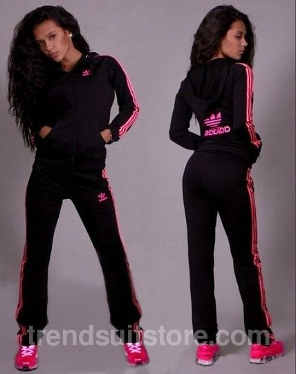 c0268ede063a Article V00008  velour  tracksuit Order of this product only by wholesale  catalog at our website. Stylish womens velour black and pink sweatsuit.