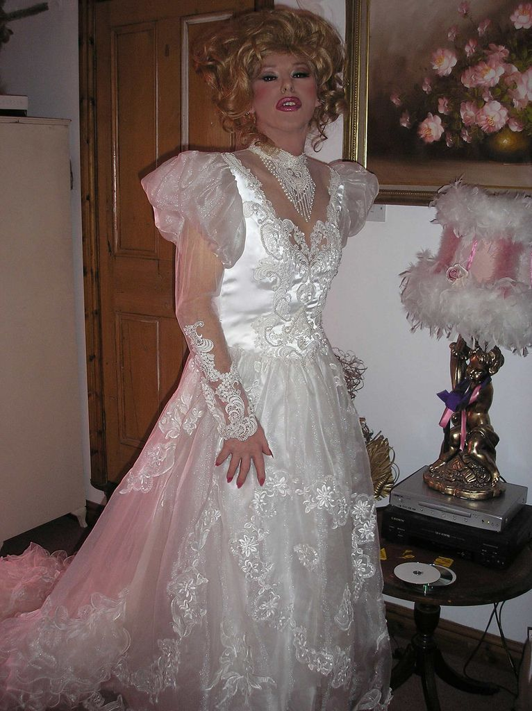 The wedding night tranny