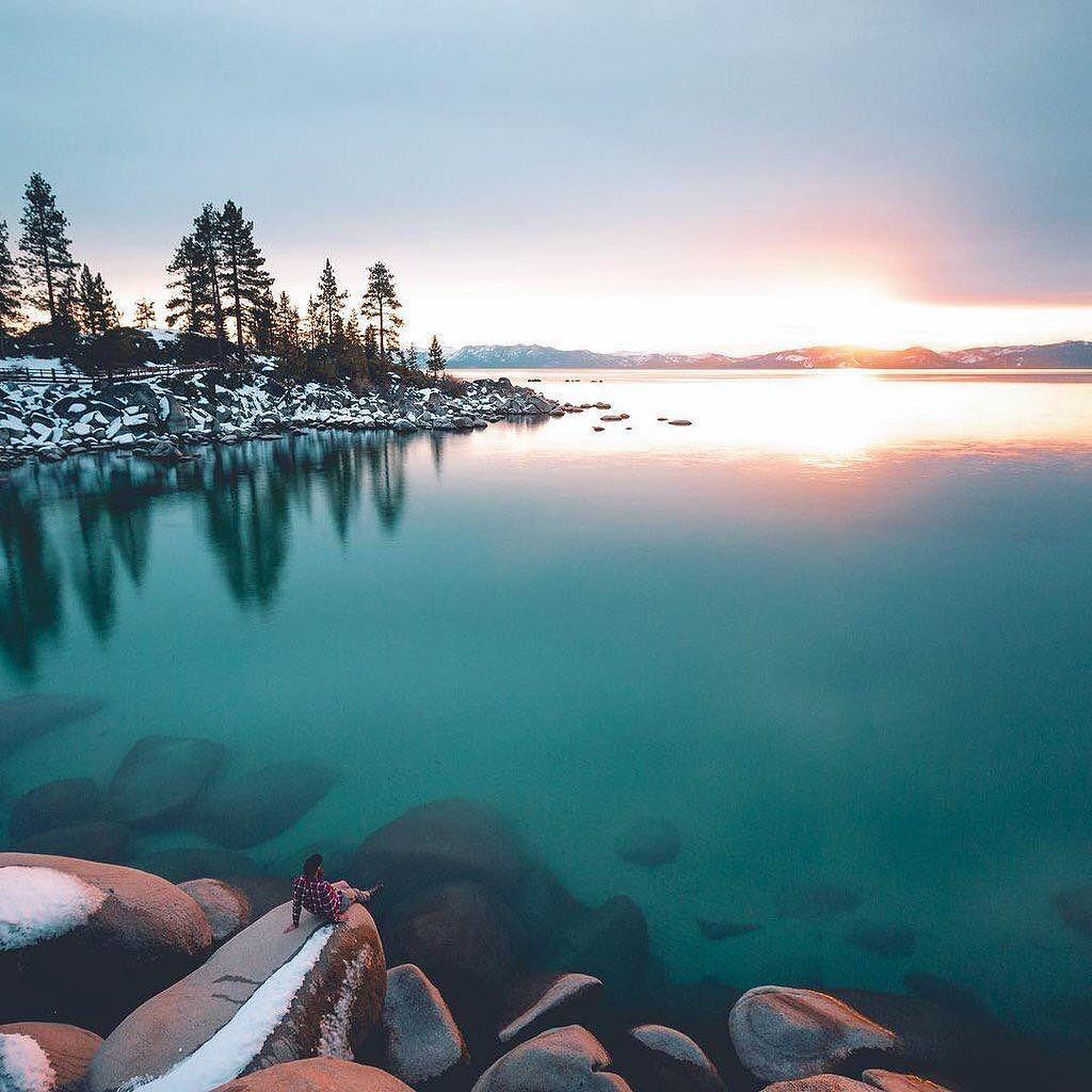 Stillness In Lake Tahoe Photo By Jordanherschel By Earthpix Landscapes Landscapephotography Nature Travel Photography Lake Tahoe Earth Pictures Tahoe