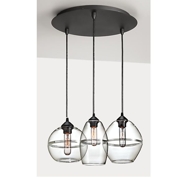 Banded Pendants Sets Pendant Set Pendants And Pendant Lighting - Set of three pendant lights