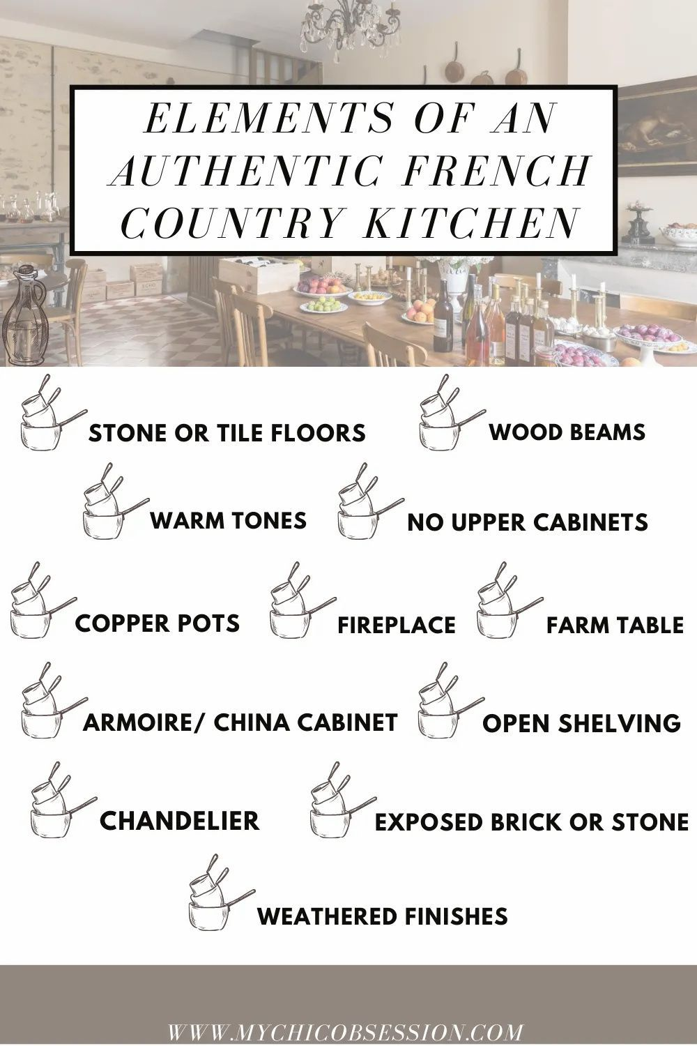 How To Get An Authentic French Country Kitchen French Country Kitchen Country Kitchen French Country