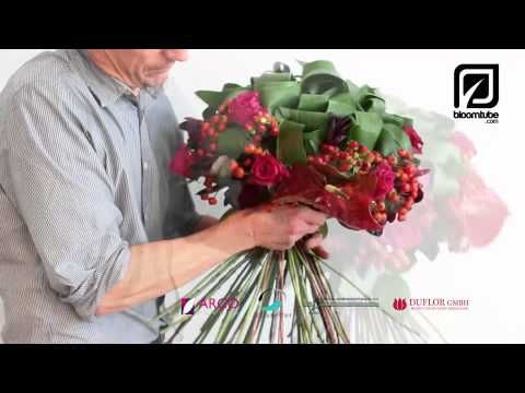Bouquet Sposa Youtube.Bloomtube Floral How To Make Diy Youtube Bloemstukken