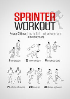 Leg training for sprinters
