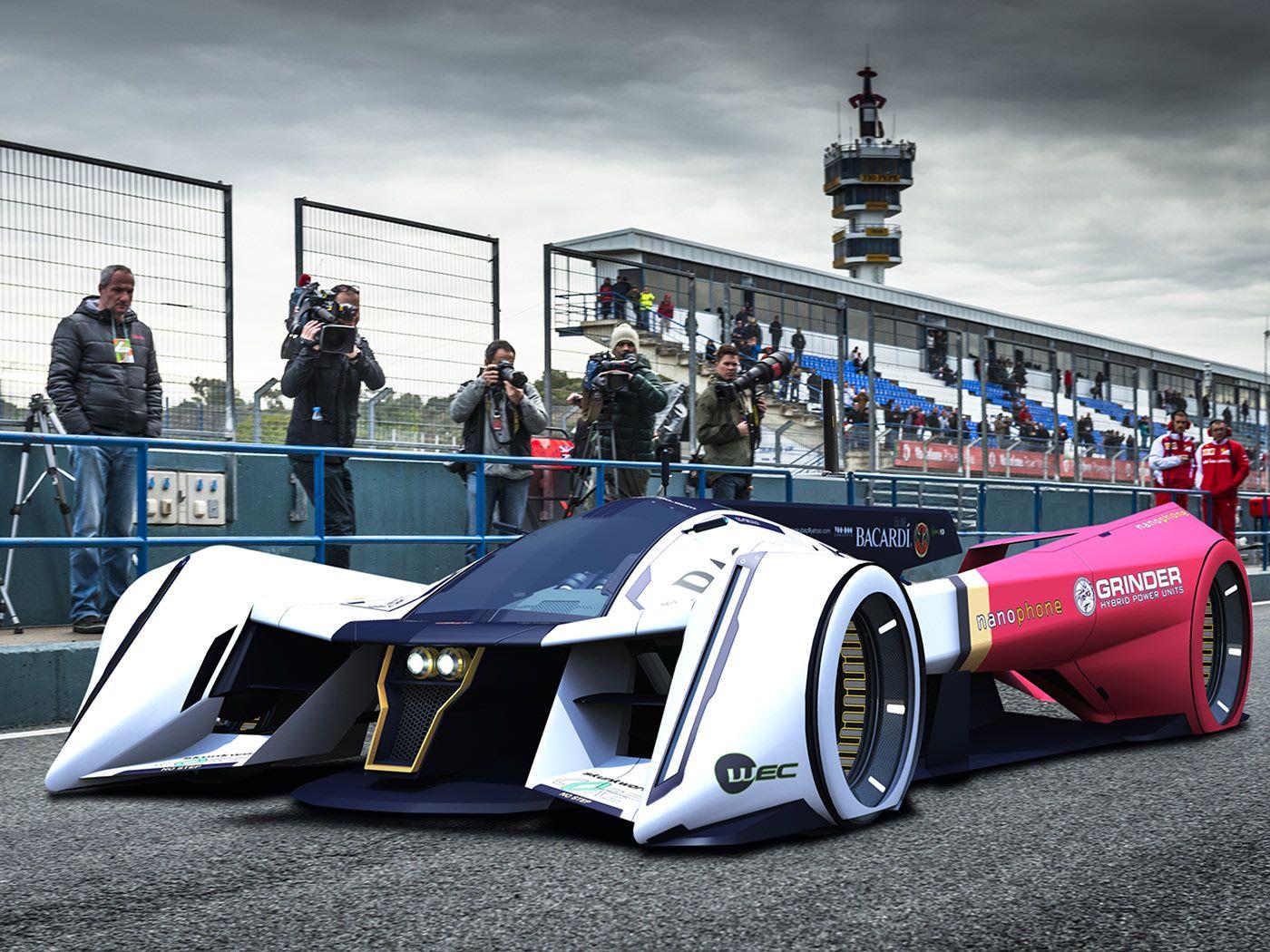 Revolt Lmp1 Concept Kip Kubisz On Behance Futuristic Cars Futuristic Cars Concept New Luxury Cars